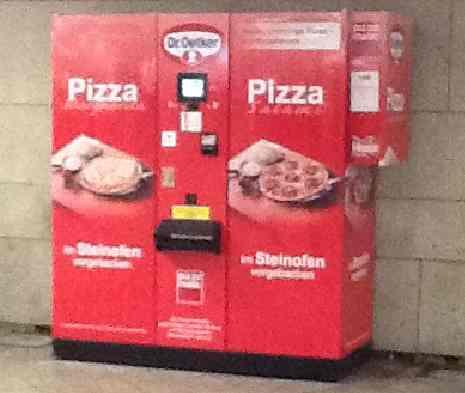 pizza automat